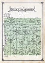 Albion and Springfield Townships, Disco, Jackson County 1914